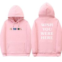 2018 Travis Scott Astroworld WISH YOU WERE HERE hoodies Men ...