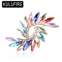 KULUFIRE Colorful New Jewelry Brooch pins large brooches for...
