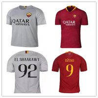 AS roma SOCCER Jerseys 2018 19 pastore DE ROSSI 18 19 kit DZ...