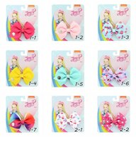 New JoJo bows Kids hair accessories 3. 5 inch 35 kinds of mon...