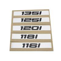 116i 118i 120i 125i 130i 135i Auto Heck Boot Embleme Nummer Brief Abzeichen Styling für BMW 1er E81 E82 E87 E88 F20 F21 Emblem