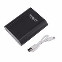Freeshipping Portable Smart Power Bank Chargeur Batterie Case Box 18650 Batterie Double USB LCD Power Bank Case Boîte DIY (Pas de batterie)