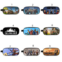 18 Styles wallet Fortnite Pencil Bag Cartoon Pencil Cases St...