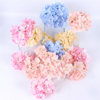 34 Colors Artificial Hydrangea Fake Flowers Artificial Plant...