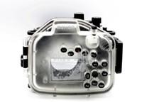 40メートル130フィートの水中防水ハウジングダイビングカメラケースバッグPanasonic LX100 DMC-LX100