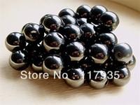 Granos redondos de hematita naturales no magnéticos de 8 mm al por mayor A 4-10 mm de piedra Perlas sueltas joyería que hace la pulsera neclace precio de fábrica