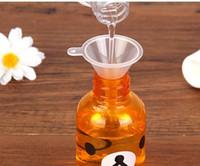 شفافية مصغرة البلاستيك مداخل صغيرة العطور السائل الضروري النفط ملء زجاجة فارغة التعبئة المطبخ بار الطعام أداة dhl سفينة