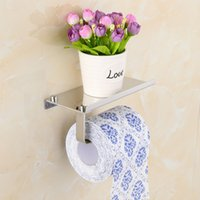 1pcs Creative Design Toilet Paper Holder Stainless Steel Wal...