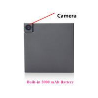 MD13 Mini DV Camara con 2000 mAh Battery Nanny Camera Motion Detection Video Registrazione audio Mini videocamera pk MD90 SQ11