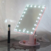 16/22 LED beleuchtet Touch Screen Kosmetikspiegel-professionellen Kosmetikspiegel mit der drehenden Gesundheits-Schönheits-justierbaren Countertop 360