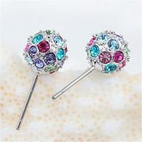 Orecchini Crystal Disco Ball Shambala Orecchini Orecchini Donna Regalo Accessori gioielli di moda Regalo per feste 13727