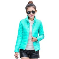 2016 new women' s jacket to keep warm in winter padded s...