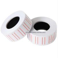 Promozionale One Roll 500pcs bianco adesivo etichette prezzo etichetta tag mark adesivo per MX-5500 prezzo pistola etichettatrice