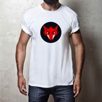 MENS FOX T- SHIRT 100% COTTON FUNNY COOL ANIMAL WILD NATURE C...
