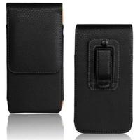 Clipe de cinto universal pu couro cintura estojo bolsa para Nokia X5 / 5.1 / 6 2018/5/8