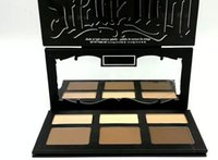 HOT SHADE LIGHT CONTOUR PALETTE 6 цветов Bronzers Highlighters макияж 50pc