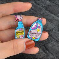 50 Pz / lotto Mix Style Pins e spille Remover, XX repellente pulizia divertente pin Badge smalto pins Spilla Spilla