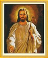 Иисус христианская вера diy декор картины , ручной вышивки крестом вышивка рукоделие наборы счетный печать на холсте DMC 14CT /11CT
