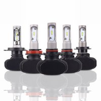 Shipping by DHL S1 Auto H11 H4 Led H7 Bulb Car Headlight Hig...