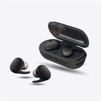 Profissional à prova d 'água esporte toque fones de ouvido sem fio tws mini fone de ouvido bluetooth com organizador de armazenamento de energia fones de ouvido para ios android