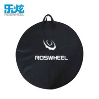 1 pcs ROSWHEEL MTB Mountain Road Bike Roda Bag Wheelset Bag Transport Pounch Carrier organizador sacos de armazenamento de bicicleta
