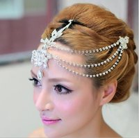 Hot Sale Luxury Tassels Bridal Forehead Decoration 2019 Brid...
