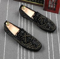 2018 New Style Suede material slip on casual loafers classic...