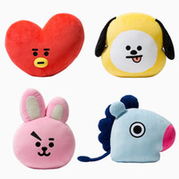 1Pc Bangtan Boys BTS bt21 Kawaii Pillow Plush Toy cushion TA...
