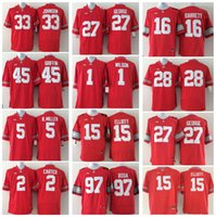 5d4dc8ba0 Youth Kids Football College 97 Joey Bosa 1 Braxton Miller 12 Cardale Jones 15  Ezekiel Elliott 16 J.T. Barrett Ohio State Buckeyes Jerseys