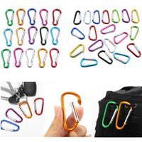 Camping Equipment Carabiner Multi- functional Aluminum Alloy ...