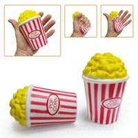 Popcorn Slow Rising Puffed Rice Squishies Toy Simulation Sce...