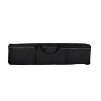 Tissu Oxford portable avec étui rembourré pour piano électrique à clavier 88 touches