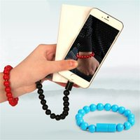 Micro USB Cable Beads Bracelet Charging For Samsung Portable...