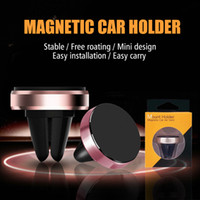 Car Holder Mini Air Vent Mount Magnet Magnetic Cell Phone Mo...