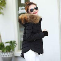 12d4864bf9 Mulheres jaqueta de inverno 2019 mulheres Casaco de Inverno Quente de Pele  Falsa Com Capuz Para