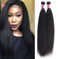 China hair vendor natural black virgin human hair light yaki...
