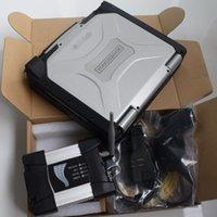 Interfaccia diagnostica BMW Bluetooth ICOM A2 B C WIFI Avanti Strumento dello scanner Laptop CF30 Touch Screen ToubleBook Software HDD 1TB Windows10 System