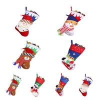 New Style Christmas Decorations Santa Claus Socks Pendant Di...