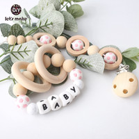 Let' s make Silicone Football Beads Baby Teething Nursin...