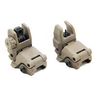 التكتيكية m4 AR15 AR-15 الأمامي والخلفي الوجه حتى البصر الانتقال السريع احتياطية للطي البصر ل picatinny السكك