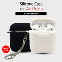 Silicone Case For Airpods Gift Match Hook 6 Colors Selection...