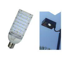 Straßenlaterne-Lampe der hohen Leistung E40 28W LED im Freien, die vertikale Garten-Straßenlaterne-Straßenlaterne AC85-265V beleuchtet Warmes / kühles Weiß