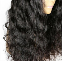 Full Lace Glueless Human Hair Wigs Body Wave Wig Black White...
