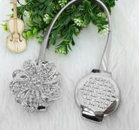European - Stil Diamant Blume geformt Magnet Vorhang Raffhalter Magnetische Vorhänge Schnalle Window Screening Ball Clip Halter Zubehör