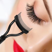 Make Up Mascara Guide Eyebrow Eyelash Comb Curler Eyebrow Ey...