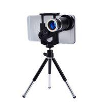 Lenti per cellulari universale 8X Zoom Telescopio Fotocamera Lenti telefoniche per iPhone 4 4S 5 5C 5S 6 Plus Samsung Galaxy S3 S5 Nota 4