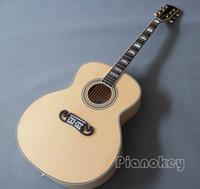 Soem-kundenspezifische handcrafted Akustikgitarre, 43-Zoll-riesige hölzerne Farbe China machte Gitarre elektrisches akustisches