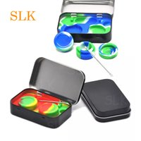 Wax containers silicone box 2pcs 5ml Non- stick silicon conta...