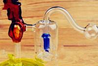 Rosentopffilter, Großhandel Glas Bongs Ölbrenner Rohre Wasserpfeifen Glasrohr Ölplattformen Rauchen, freies Verschiffen