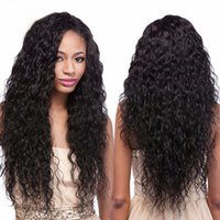 Full Lace Human Hair Wig Loose Curly Lace Front Wig 150% Den...